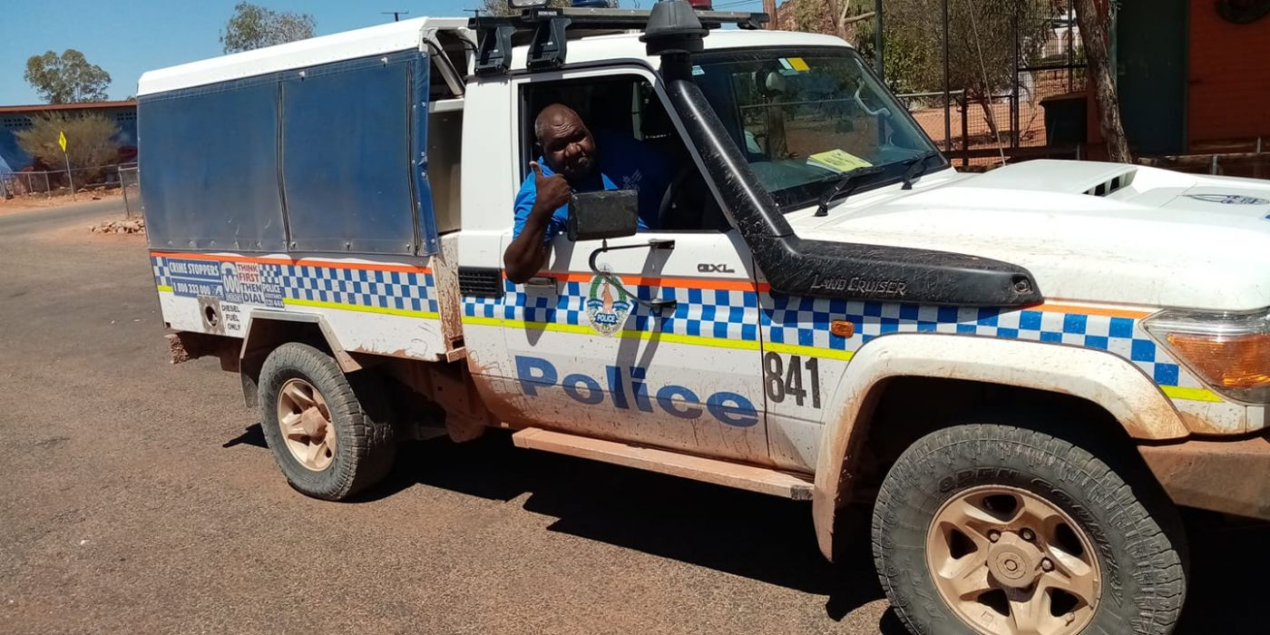 Phillip Alice works as an Aboriginal Liaison Officer in the remote community of Santa Teresa and surrounding communities. When he isn't in community, he comes to work and speak to visitors in Alice Springs.