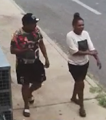 Police would like to identify these two people who they believe may be able to assist with investigations in relation to counterfeit currency