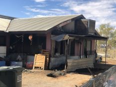 Local fire fighters managed to control a blaze that broke out at a home in Alice Springs overnight.