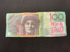 Businesses are warned to be vigilant when handling cash as there has been counterfeit notes used recently in Alice Springs