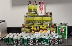 66Ltrs of alcohol seized from a residence in an Alcohol Protected Area, by Tennant Creek Police at the weekend.