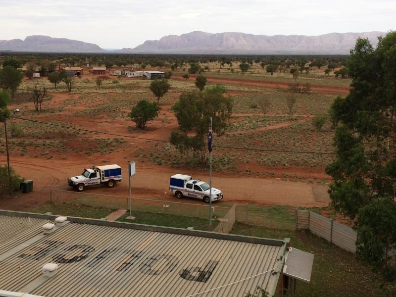 View from the water tower in Papunya